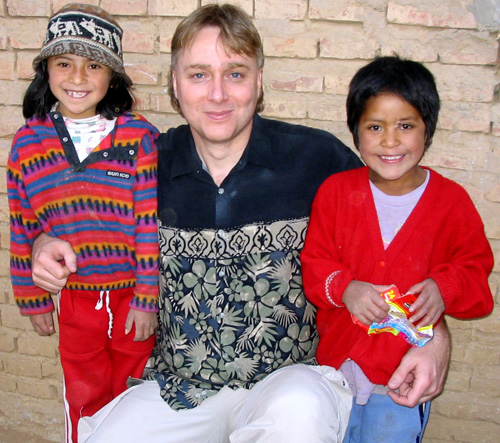 Christopher Redner and sponsored children
